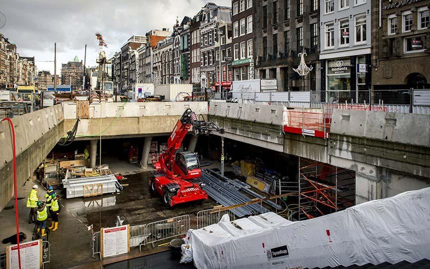 Verbouwing Noord Zuidlijn