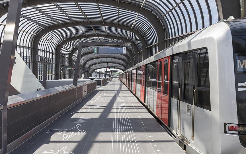 Noord Zuidlijn Amsterdam